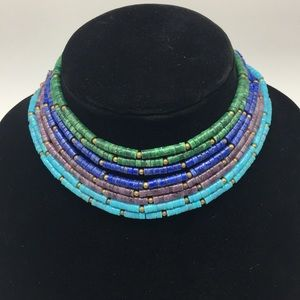 Jewelry - Vintage Beaded Choker Necklace.